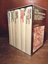 LATERZA - STORIA dell' EUROPA MODERNA - 1973 Rivoluzioni  5 volumi in cofanetto