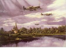 Spitfire Royal Airforce RAF Fighter plane Lichfield Cathedral Art d'aviation