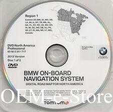 2007 2008 BMW 328i 328xi 335i 335xi Navigation DVD EAST Coast Map 2012 Update