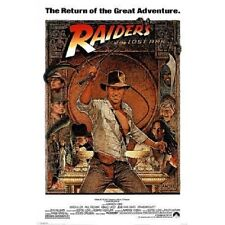 "Indiana Jones - Raiders Of The Lost Ark - Movie Poster (1982 Re-Release) 36""x24"""