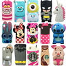 3D Cute Cartoon Soft Silicone Back Case Cover For HTC Desire D626 620 816 820