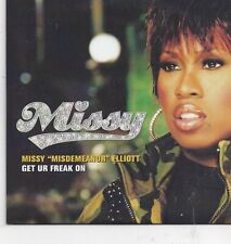 Missy Elliot-Get Ur Freak On cd single