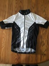 SPECIALIZED Women's SL EXPERT SS MTB Road JERSEY  White/Black Medium Form Fit