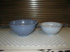 New listing Melamine Melmac Bowl 2 Blue Spatter Ware Usa 118 C 111 A texas ware ?