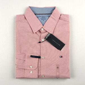 Tommy Hilfiger Men's Shirt Slim Fit Stretch Button Down Shirt