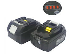 2PCS18V Battery 6AH 6000mA for MAKITA BL1860 Power Tool Battery BL1850 BL1840