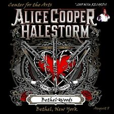 ALICE COOPER LIVE IN BETHEL WOODS NY 2019 AUGUST 8th LIMITED ED 2 CD
