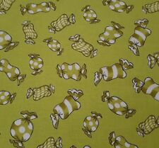 Sweetie by Loralie Harris Quilting Treasures BTY Lime Green Candy