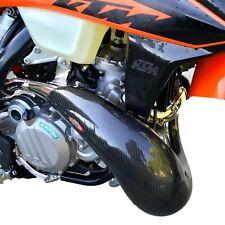 Carbon KTM EXC 250 300 20- 2020 orig Krümmerschutz Auspuffschutz Pipe Guard