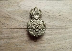 Queen's Own Yorkshire Dragoons Yeomanry Cap Badge - British Army