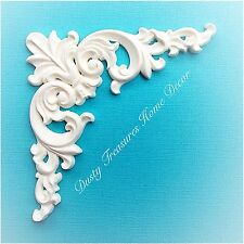 Shabby Chic French Provincial Furniture Appliques Carving Onlays