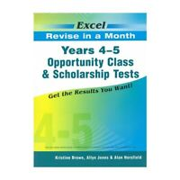 New Excel Selective Schools & Scholarship Test Year 4-5 Workbook! Maths,Eng,Ga!