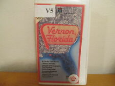 Vernon, Florida VHS in clamshell