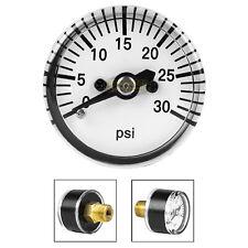 New 2x 300 PSI Paintball Micro Gauge,Diameter is 25mm,Standard 1//8-27NPT