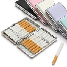 Slim Pocket Cigaret Box/Case Faux Leather Cigarette/Roll Up Protector Holder FB