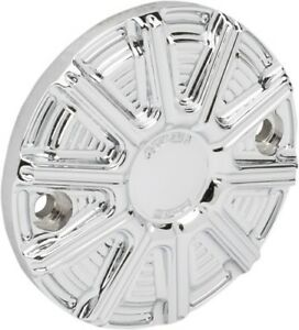 Arlen Ness - 03-324 - Ignition Covers for V-Twin 10-Gauge Chrome 26-3805