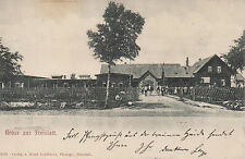 AK - 27259 FREISTATT (b.Sulingen), Ortsansicht, gelaufen 1904 (#20998)