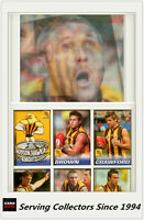 2005 Herald Sun AFL Trading Cards MASTER TEAM CARD COLLECTION-HAWTHORN