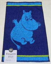 Moomin Blue Hand Towel Finlayson Finland Brand New
