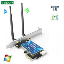 EDUP 600Mbps PCI-E Wifi Card Adapter Bluetooth 4.0 Dual Band Wireless Network