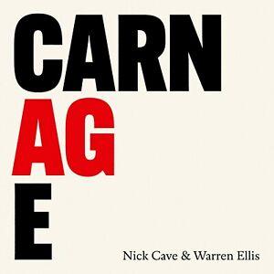NICK CAVE & WARREN ELLIS - CARNAGE -  LP NUOVO SIGILLATO 2021