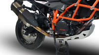 KTM 1190 ADVENTURE DECAT HEADER  PIPES  BY GPR EXHAUSTS ITALY
