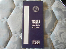 1960 TENNESSEE STATE FOOTBALL MEDIA GUIDE Yearbook Program Press Book TSU AD