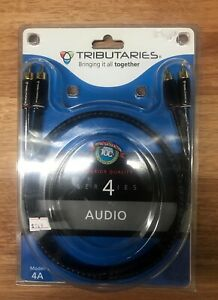 Tributaries Series 4 Cable RCA Pair 1.5M Model 4A New