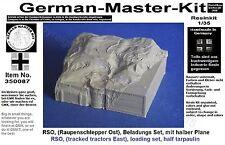 350087, carga para un RSO (tractores oruga Ost), 1:35 resin, diorama accesorios
