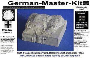 350087, Beladung für einen RSO (Raupenschlepper Ost), 1:35 Resin,Diorama Zubehör