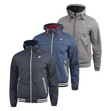 Mens Jacket Kangol Lightweight Windbreaker Calvin Coat