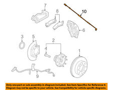 GM OEM ABS Anti-lock Brakes-Front Speed Sensor 20872161