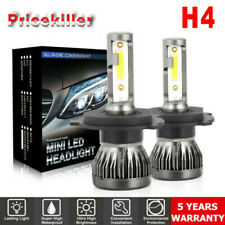 CREE H4 LED Headlight Bulbs Conversion Kit 1700W 180000LM 6000K Hi/Lo beam Lamps