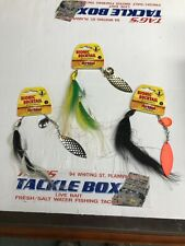 3 Northland Bucktail Spinnerbait 3/4oz
