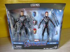 "Hasbro Marvel Legends Avengers 4 6"""" Marvel's Hawkeye & Black Widow Team Suit"