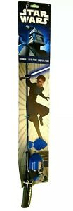 """Shakespeare Star Wars Fishing Rod Reel Youth Size Trainer Pole Spin Cast 30"""""""