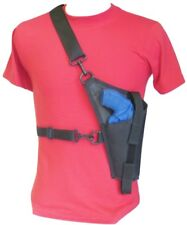 "Tanker Style Cross Body Holster for Judge Public Defender (2""-3""),Poly,Governor"