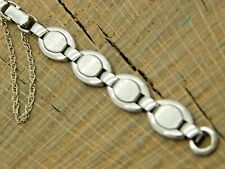 NOS Speidel Unused Butterfly Clasp Vintage Watch Band Ring End Stainless Ladies