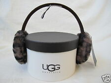 NWT UGG® Australia_Marquis Earmuffs Real Dye Shearling Sheepskin Leopard