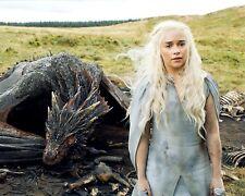 Emilia Clarke 8x10  Photo #86 Game of Thrones