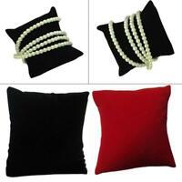 10Pcs Velvet Bracelet Pillow Cushion Watch Jewelry Display Stand Holder Showcase