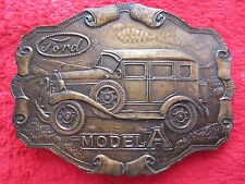 "VINTAGE FORD MODEL "" A "" BELT BUCKLE"