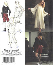 ARKIVESTRY Goth Dress Top Bloomers Costume Pattern Ms 6-12 Simplicity 2777 UNCUT