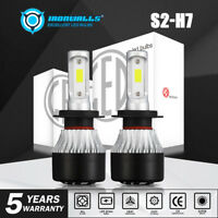 H7 LED Headlight Bulbs for Mercedes Benz SL S SLK E C CL Class Hi/Low Beam 6000K