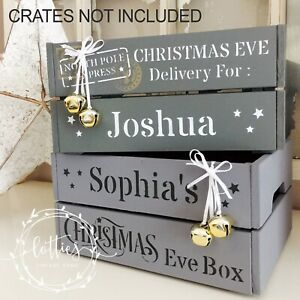 Panel STENCILS Christmas Eve Box MAKE YOUR OWN Mix & Match XMAS Crafts REUSABLE