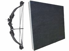 Archery Typhoon Light Adult Junior Black Compound Bow and Arrow Set Kit Target