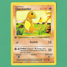 Pokemon Base Set 1st Edition Shadowless CHARMANDER (46/102)