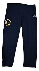 adidas Womens MLS Los Angeles Galaxy Active Pants Leggings New S