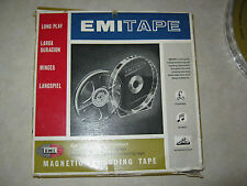 emi magnetic tape 98/18 549m 18cm LONG PLAY    lot of 2