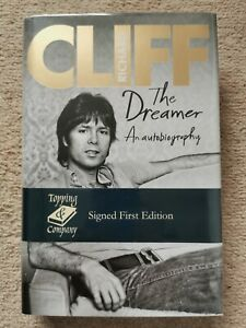 Cliff Richard - The Dreamer: SIGNED First Edition, First Impression Brand New